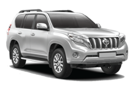 TOYOTA LAND CRUISER 4X4 INCL. NAVIGATION